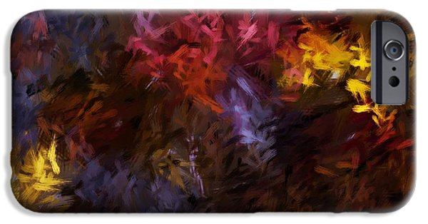 Abstract 5-23-09 IPhone Case by David Lane