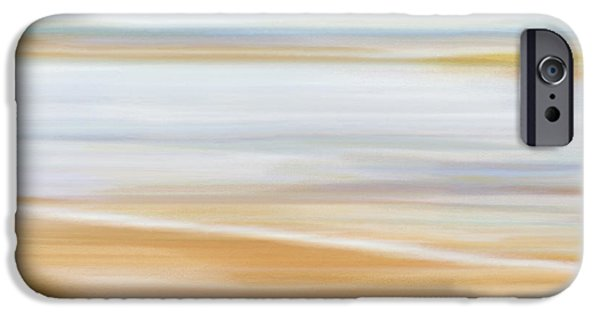 Abstract Beachscape IPhone Case by Frank Tschakert
