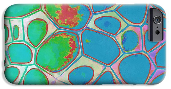 Abstract Cells 4 IPhone Case by Edward Fielding