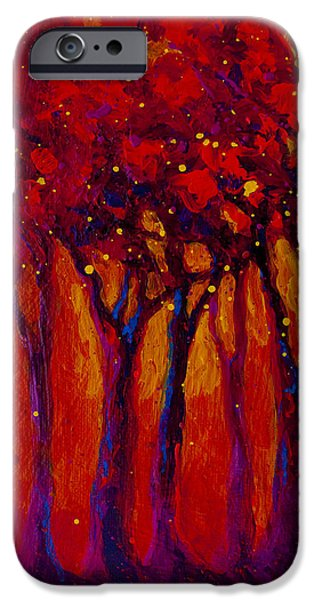 Abstract Landscape 2 IPhone Case by Marion Rose
