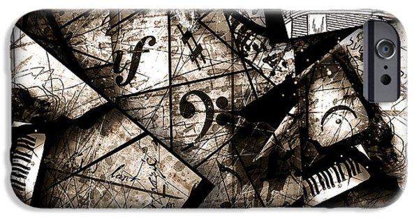Abstracta 29 Coda IPhone Case by Gary Bodnar
