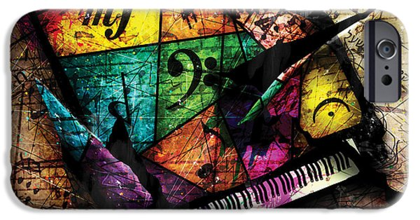 Abstracta_04 Grand Illusion IPhone Case by Gary Bodnar