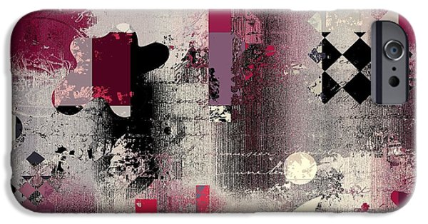 Abstracture - 21pp2a IPhone Case by Variance Collections