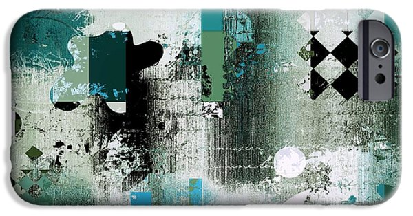 Abstracture - 21pp8bb IPhone Case by Variance Collections