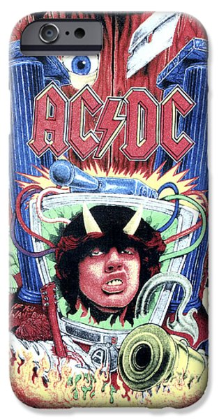 Acdc IPhone Case by Gina Dsgn