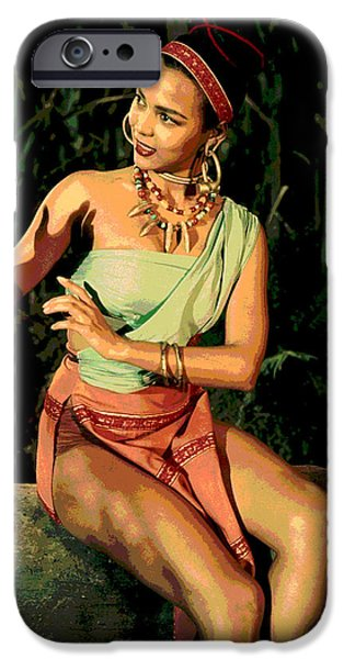 Actress Dorothy Fandridge IPhone 6s Case by Charles Shoup