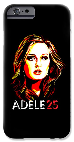 Adele 25-1 IPhone 6s Case by Tim Gilliland