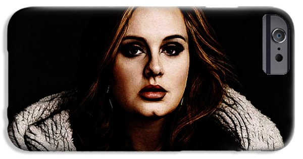 Adele IPhone 6s Case by The DigArtisT