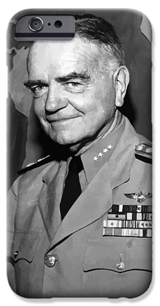 Admiral William Bull Halsey IPhone Case by War Is Hell Store