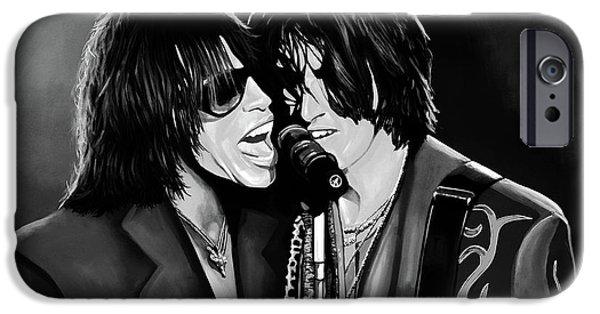 Aerosmith Toxic Twins Mixed Media IPhone 6s Case by Paul Meijering