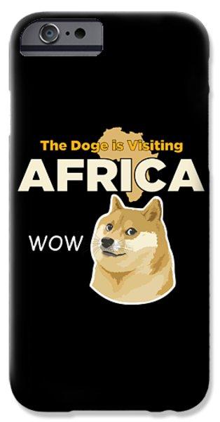 Africa Doge IPhone 6s Case by Michael Jordan