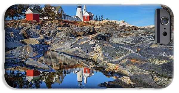 Afternoon At Pemaquid Point IPhone Case by Rick Berk