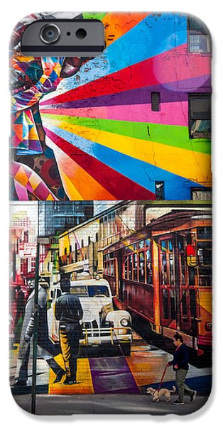 Afternoon In Chelsea IPhone Case by Az Jackson