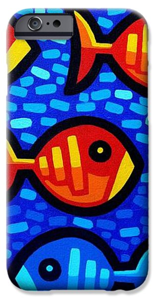 Against The Tide IPhone Case by John  Nolan