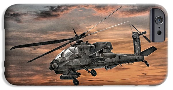 Ah-64 Apache Attack Helicopter IPhone 6s Case by Randy Steele