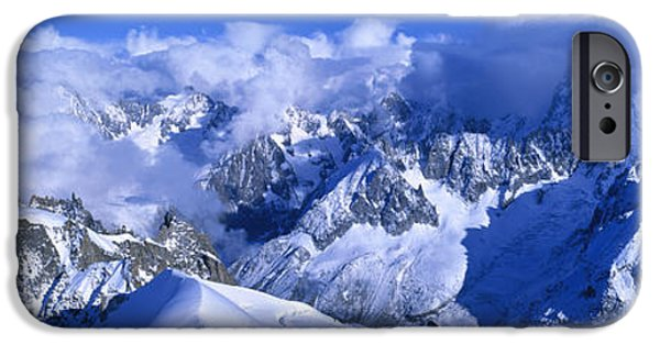 Aiguille Du Plan Alps France IPhone Case by Panoramic Images
