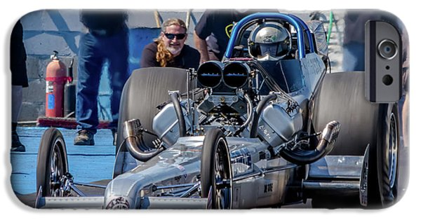 Air Force Dragster IPhone Case by Bill Gallagher