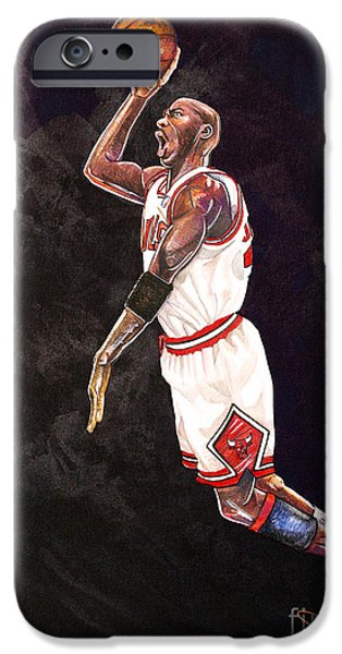 Air Jordan IPhone Case by Dave Olsen