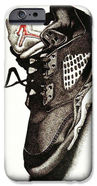 Air Jordan IPhone Case by Robert Morin