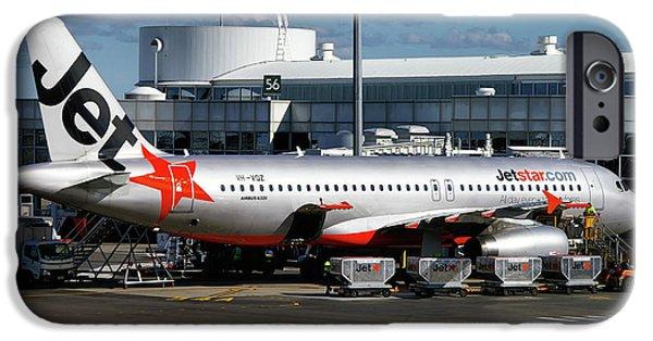 Airbus A320-232 IPhone Case by Tim Beach