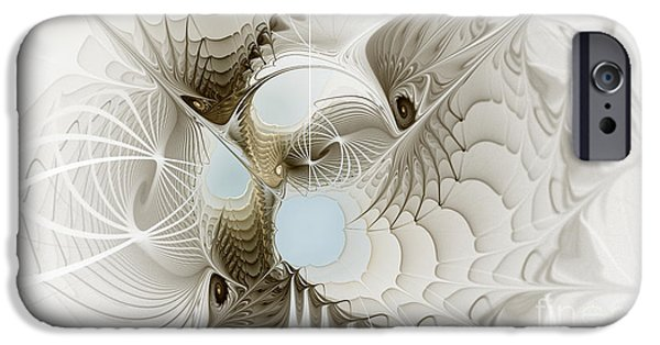 Airy Space2 IPhone Case by Karin Kuhlmann