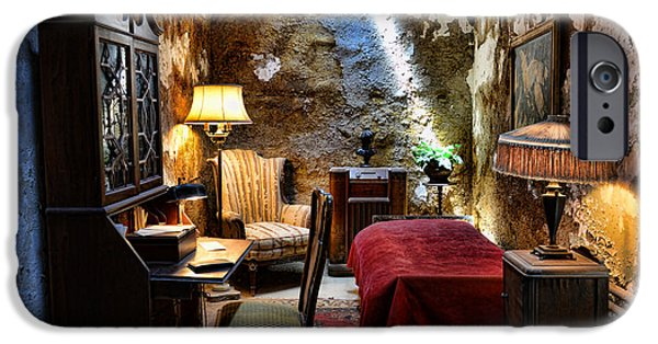 Al Capone's Cell - Scarface - Eastern State Penitentiary IPhone Case by Paul Ward