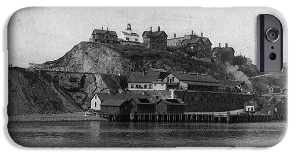 Alcatraz Island IPhone Case by Frederick Holiday