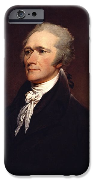 Alexander Hamilton By John Trumbull IPhone Case by War Is Hell Store