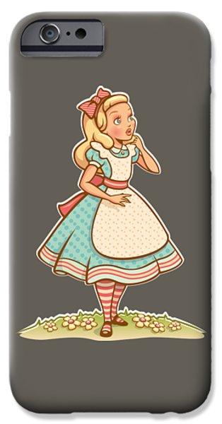 Alice IPhone 6s Case by Elizabeth Taylor