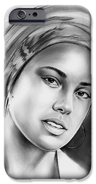 Alicia Keys 2 IPhone 6s Case by Greg Joens