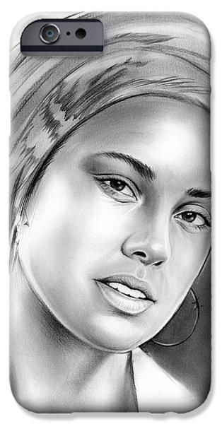 Alicia Keys IPhone 6s Case by Greg Joens