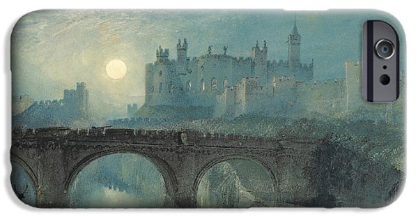 Alnwick Castle IPhone Case by Joseph Mallord William Turner