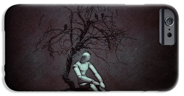 Alone In The Dark IPhone Case by Tom Mc Nemar