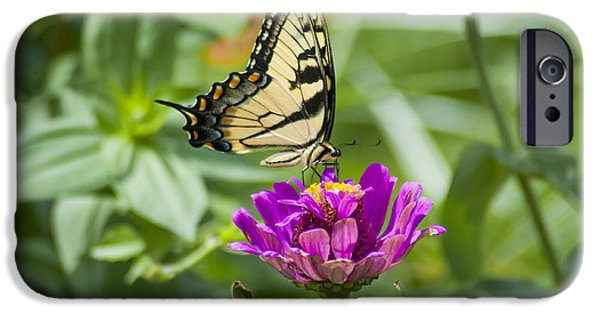 Along Came The Butterfly IPhone Case by Bill Cannon
