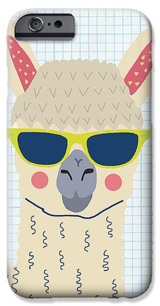 Alpaca IPhone 6s Case by Nicole Wilson