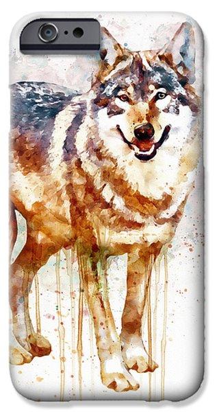 Alpha Wolf IPhone 6s Case by Marian Voicu