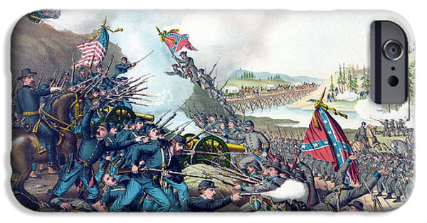 American Civil War, Battle Of Franklin IPhone Case by Science Source