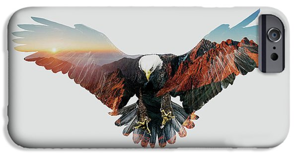 American Eagle IPhone 6s Case by John Beckley