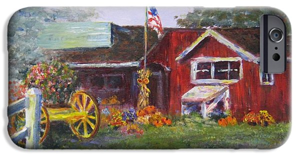American Farmstand IPhone Case by Laurie Samara-Schlageter