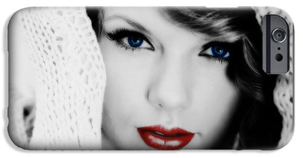 American Girl Taylor Swift IPhone 6s Case by Brian Reaves