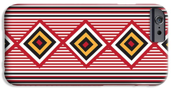 American Native Art No. 1 IPhone Case by Henrik Bakmann