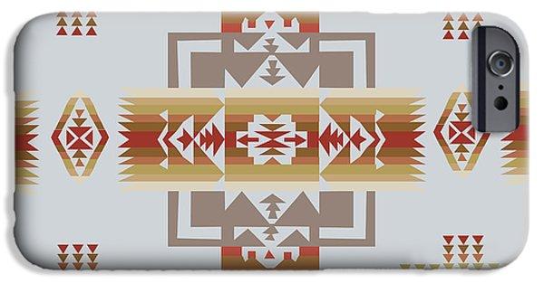 American Native Art No. 14 IPhone Case by Henrik Bakmann