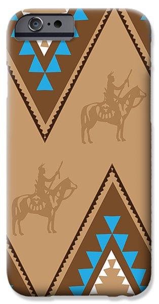 American Native Art No. 2 IPhone Case by Henrik Bakmann