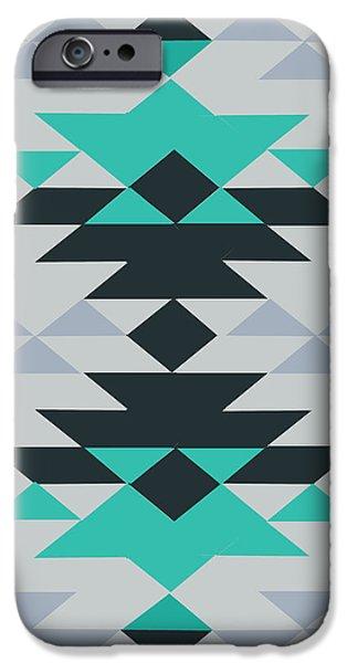 American Native Art No. 23 IPhone Case by Henrik Bakmann