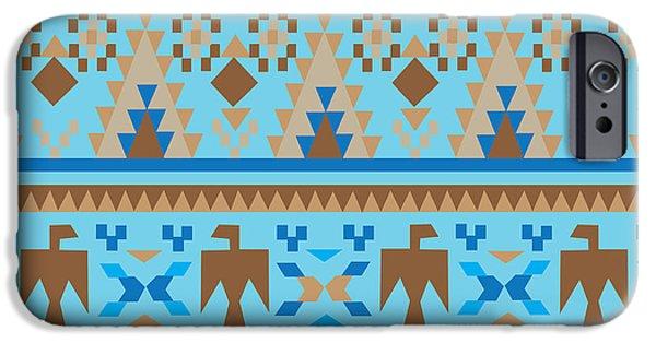 American Native Art No. 3 IPhone Case by Henrik Bakmann