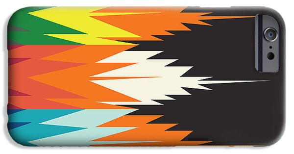 American Native Art No. 4 IPhone Case by Henrik Bakmann