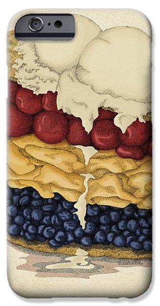 American Pie IPhone Case by Meg Shearer