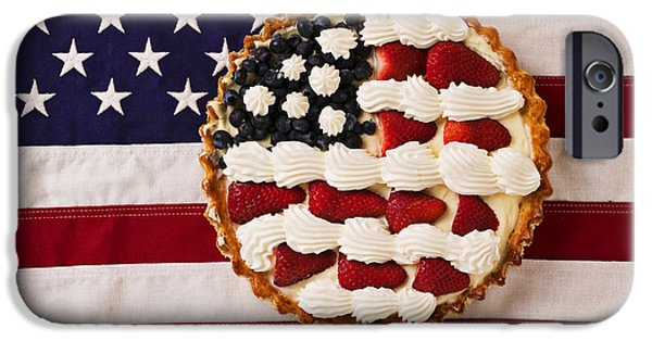 American Pie On American Flag  IPhone 6s Case by Garry Gay