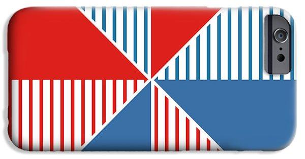 Americana Pinwheel IPhone 6s Case by Linda Woods