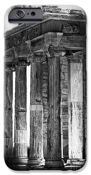 Ancient Greece IPhone Case by John Rizzuto